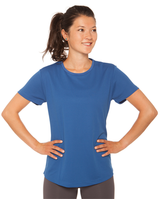 Dame T shirt svedtransporterende med eget designtryk